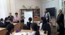 Консул РП Анита Сташкевич посетила Кабинет польского языка им. Адольфа Янушкевича