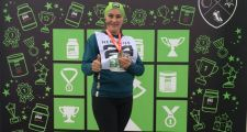 Член PJ Лариса Морозько пробежала Astana Marathon-2018
