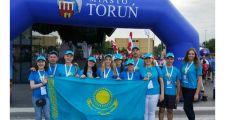 Казахстанцы завоевали 11 медалей на Всемирных летних полонийных играх