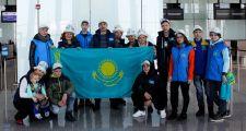 Казахстанцы отправились на полонийную Олимпиаду